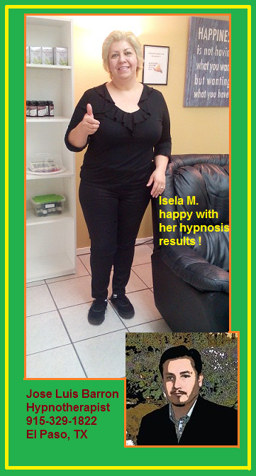 Isela M - Hypnosis Success Story #14