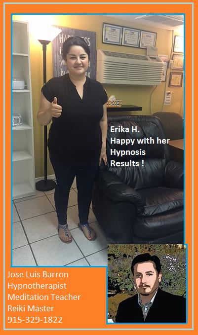 Erika H - Hypnosis Success Story #28