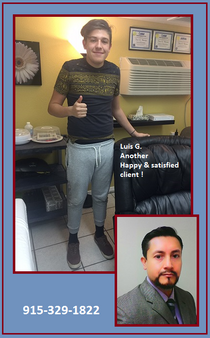 Luis Gasson - Satisfied client
