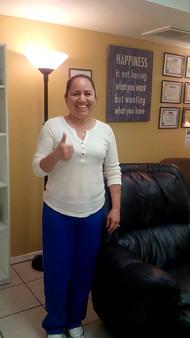 Maricela Acosta - Satisfied client