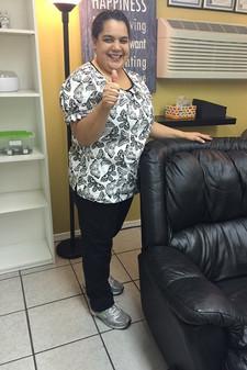 Susana Labrado - Satisfied client