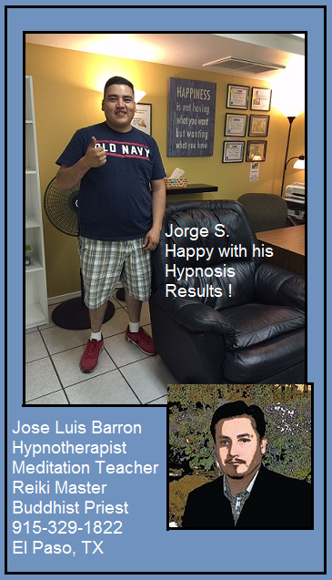 Jorge S. Hypnosis Success Story #26