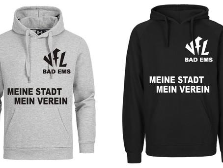 """VfL Bad Ems""""Meine Stadt Mein Verein""""Der neue VfL Pullover ist da! Meine Stadt Mein Verein!"""