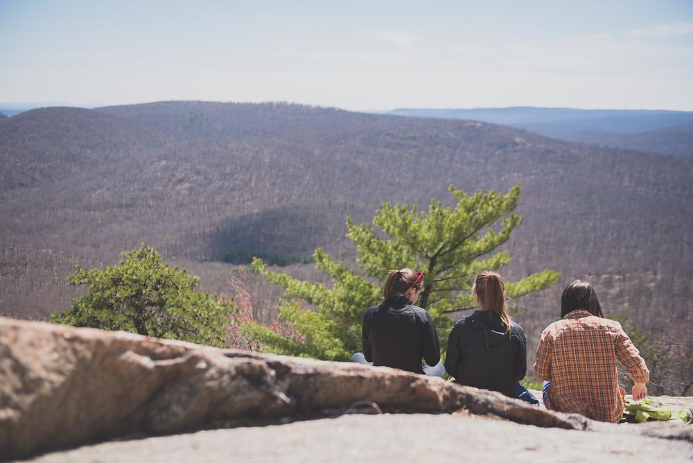 Friends, Outdoors, Self-care, Nature connection, Ahimsa, Yoga