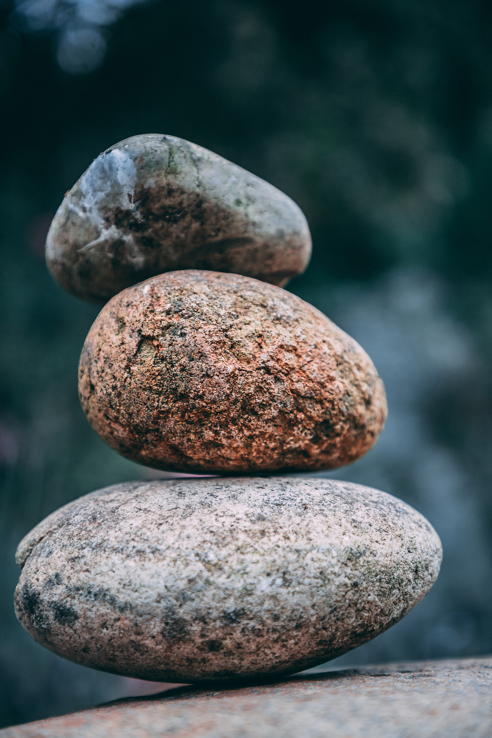 3 pillars of yoga, stacked stones, yoga with kat, yoga in felixstowe, what does yoga mean