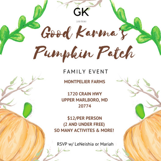 Good Karma Pumpkin Patch