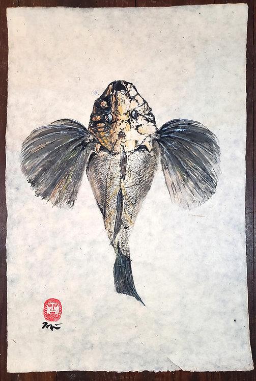 Sea Robin Gyotaku