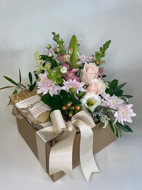 Flower Arrangement Gift Box