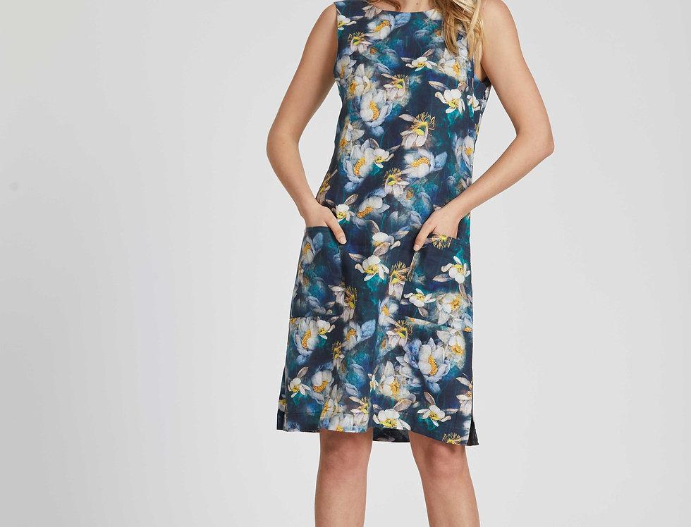 Diana Linen Dress