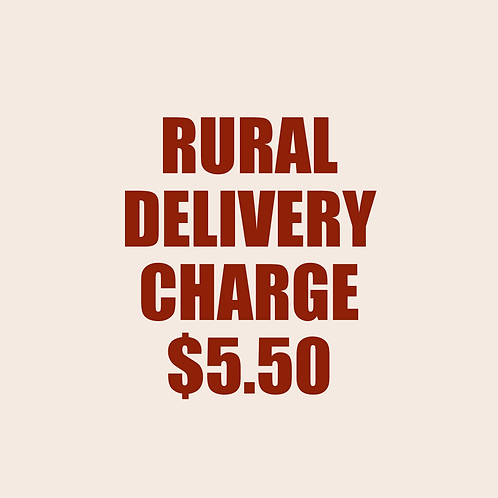 RURAL DELIVERY CHARGE