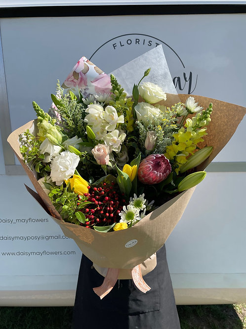 Mothers Day Fresh Flower Bouquet - Deluxe