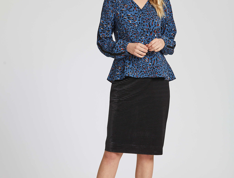 Tobin Velvet Skirt