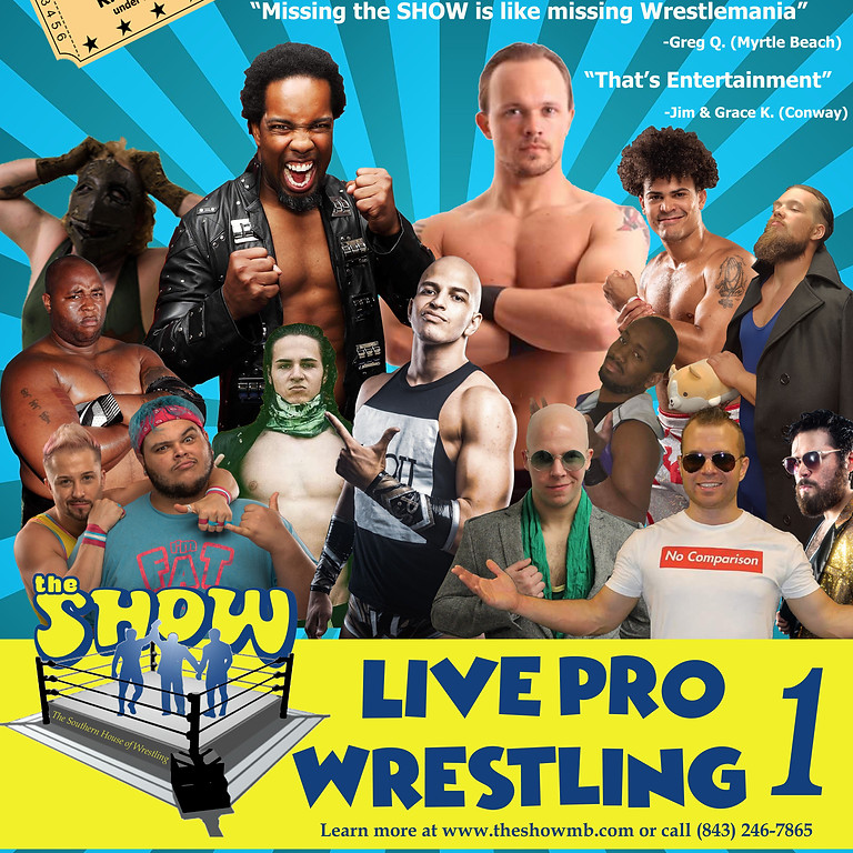 Live Pro Wrestling March 13, 2020