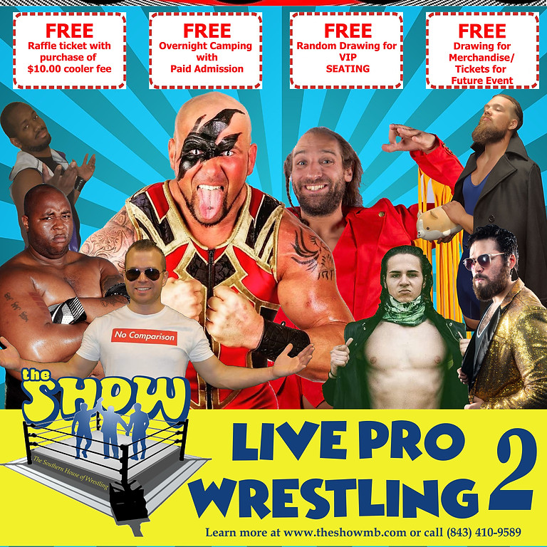 Live Pro Wrestling 2 - Outdoor Event