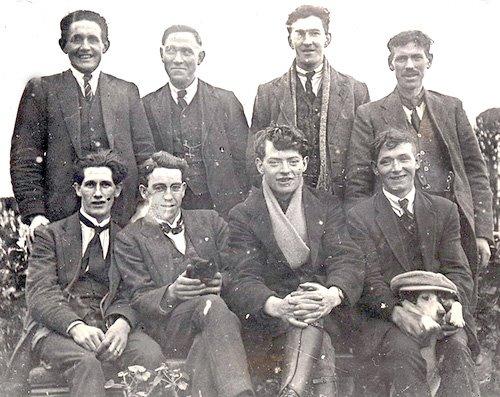Officers of Longford Brigade IRA