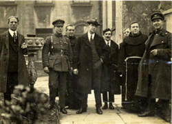 Seán with Michael Collins