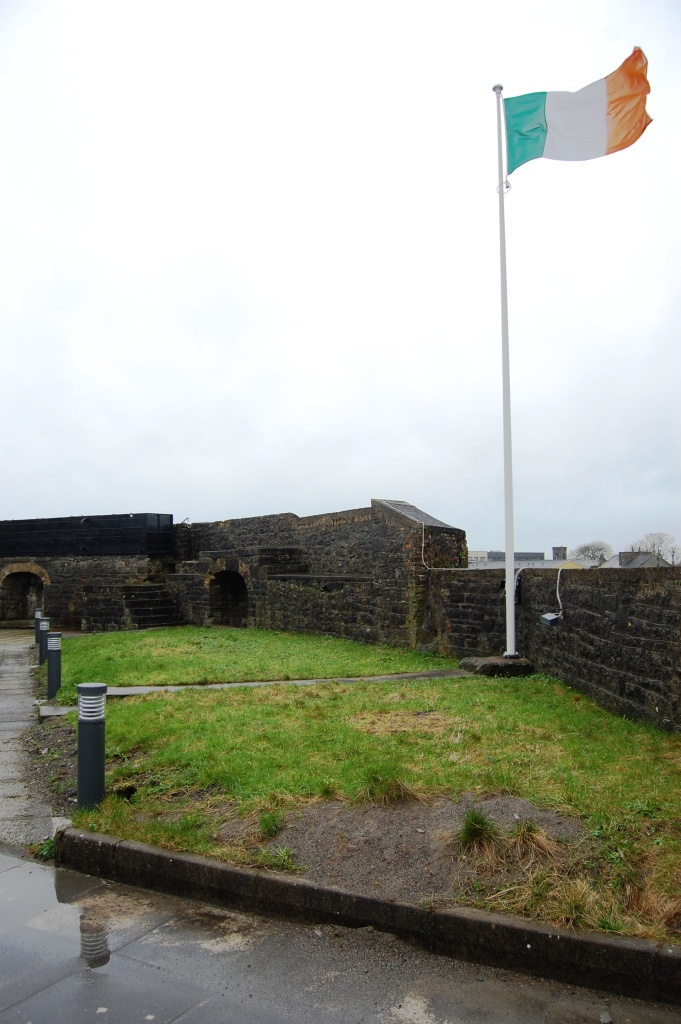 Top of Athlone Castle Today