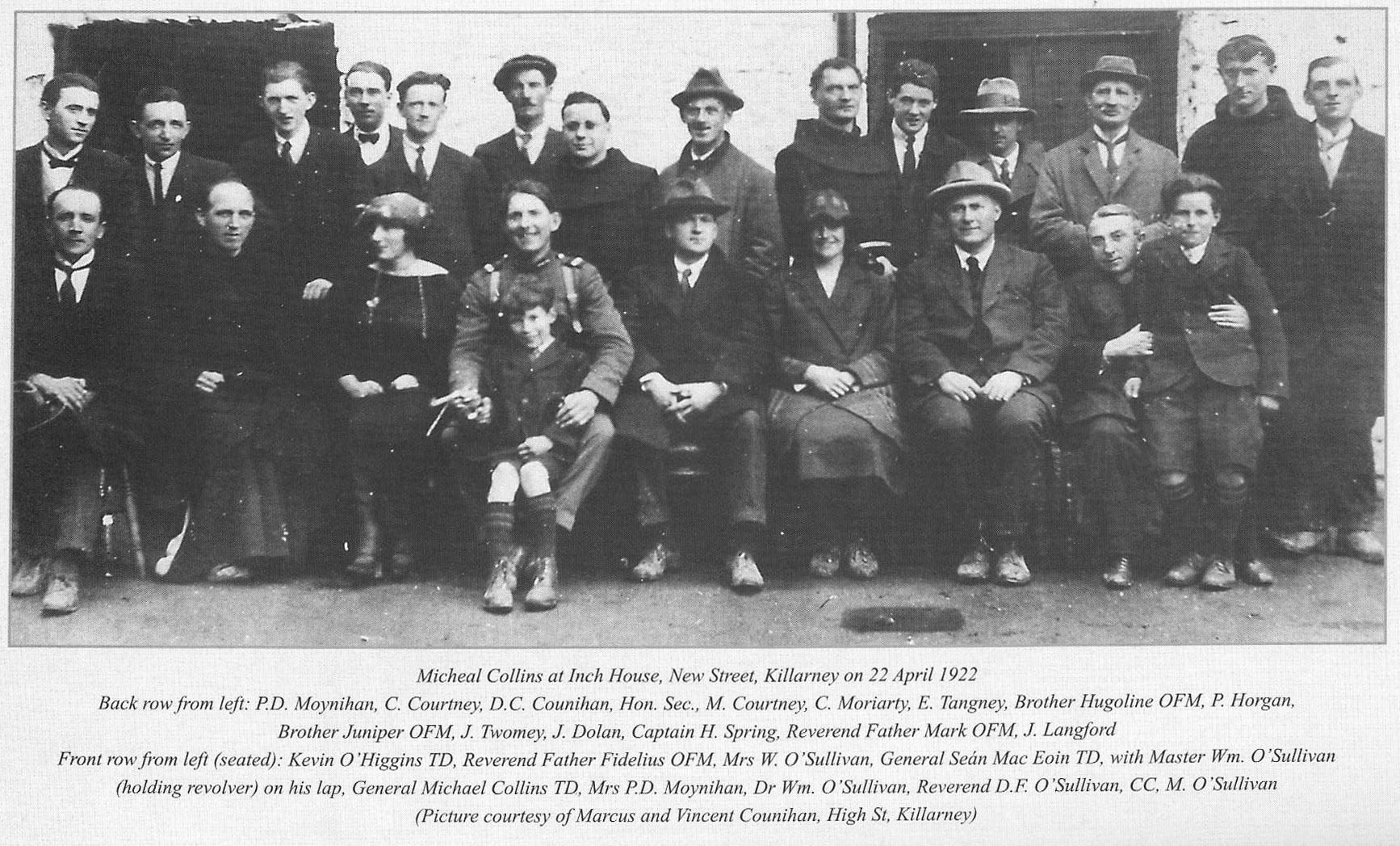 22 April 1922 - Inch House Killarney