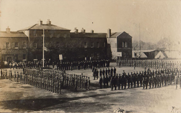 Longford Barracks take over.