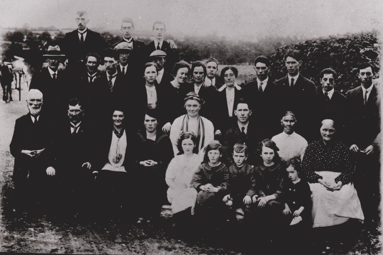 Mac Eoin family photograph