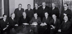 The 1948 coalition cabinet