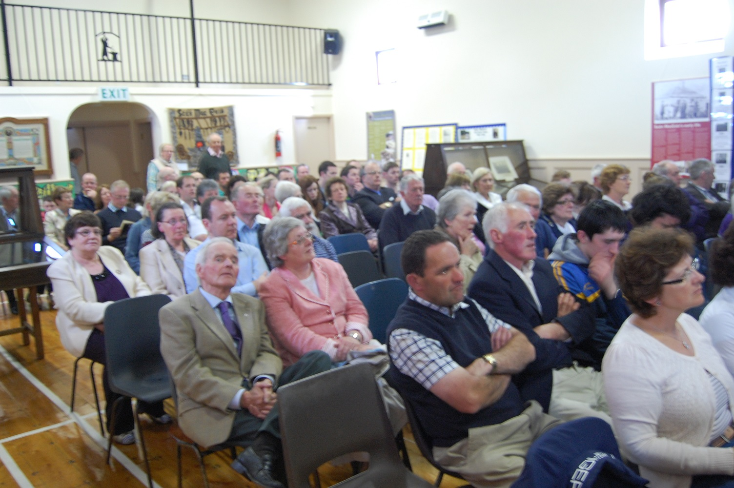 Audience at Lecture about Seán