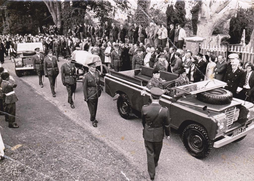 Mac Eoin's Military Funeral Cortege