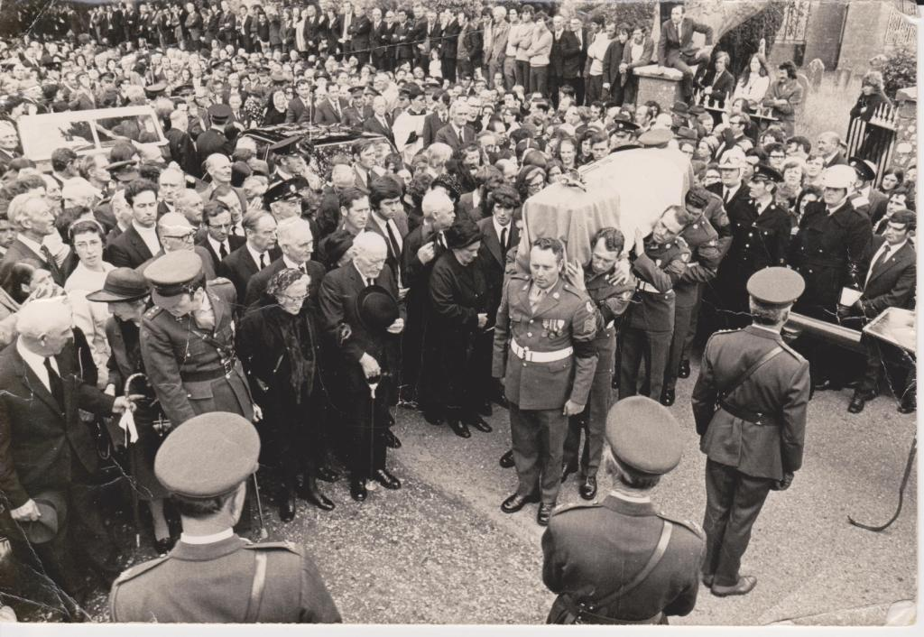 MacEoin's Military Funeral