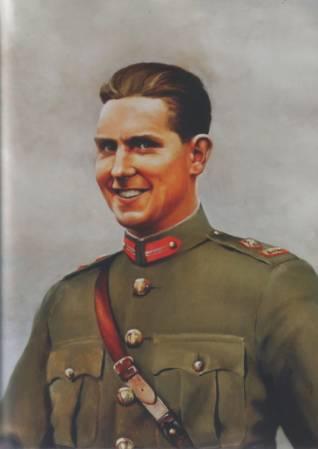 Canvas Portrait of Seán Mac Eoin