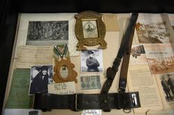 Museum display of Seán's belt