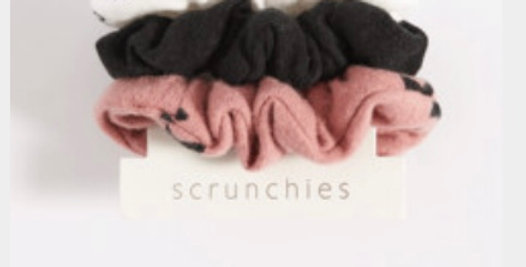 Z Supply X Large Scrunchies