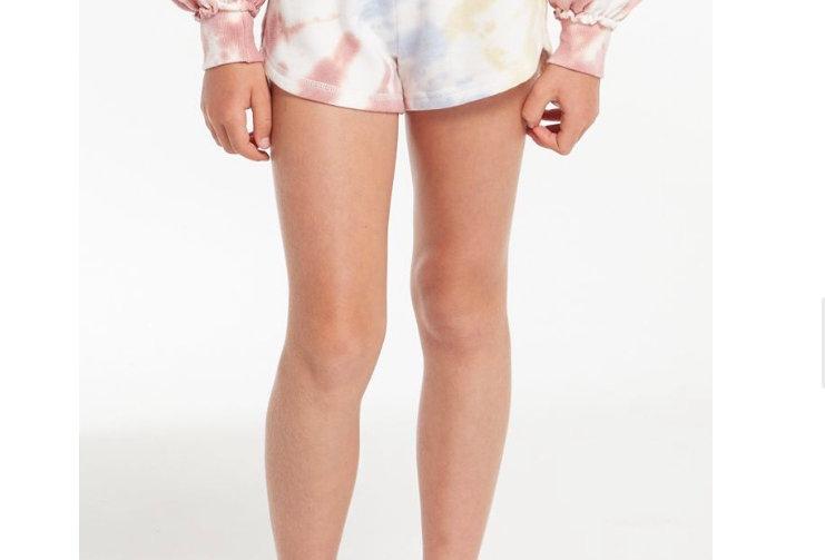 Z Supply Girls Mia Tie-Dye Short