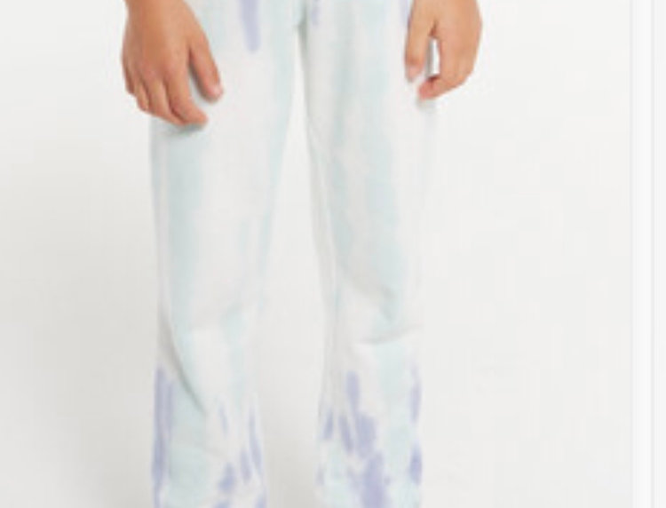 Z Supply Girls Palmer Tie Dye Joggers