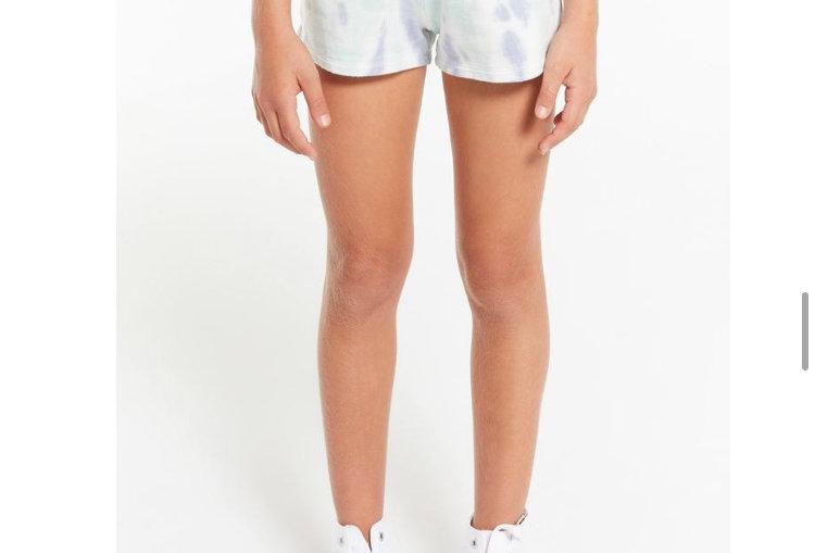 Z Supply Girls Brixton Tie Dye Short