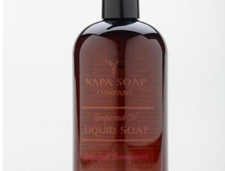Napa Soap Grapefruit/Pomegranate Grapeseed Oil Liquid