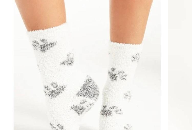 Z Supply Paws Plush Socks