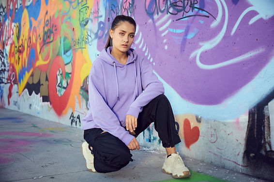 Janina Bey with Grafitti (c) Stefan Hauck Ph