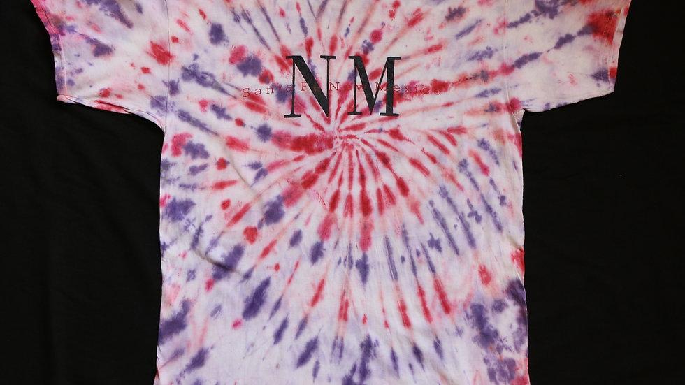 Santa Fe New Mexico Vintage Tye Dye
