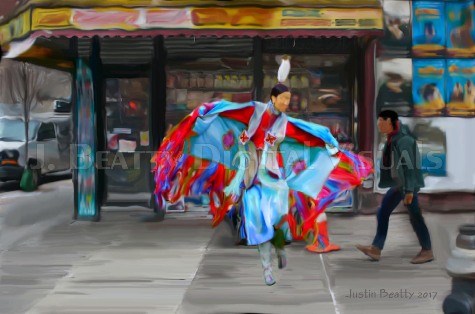 """Brooklyn Butterfly"" UAS showpiece"