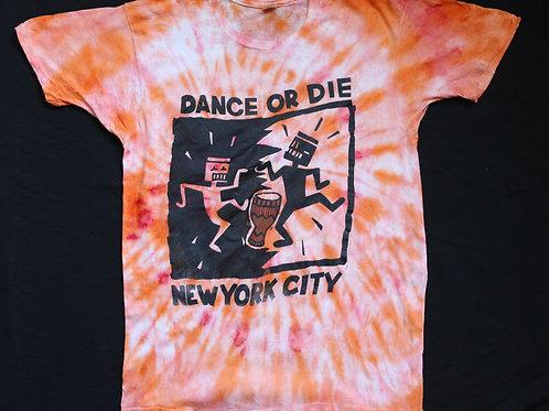 Dance or Die NY Vintage Tye Dye