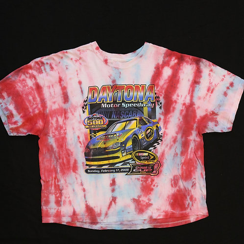 Daytona Crop Top Vintage Tye Dye
