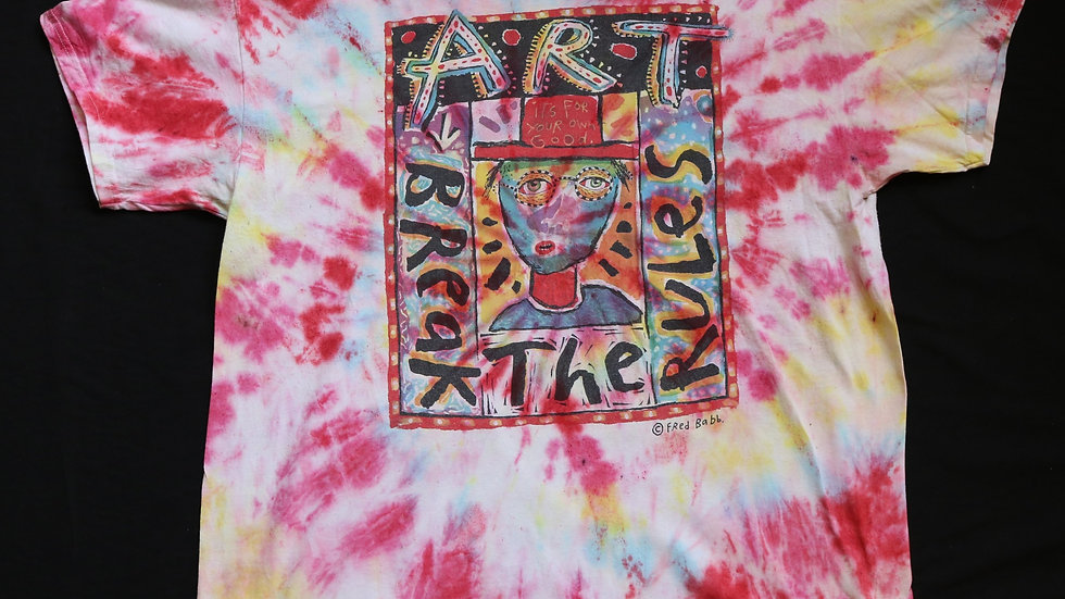 Art Break The Rules Vintage Tye Dye