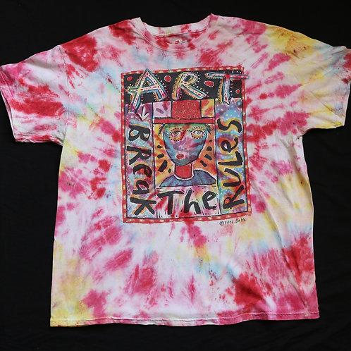 Art Break The Rules Vintage Tye Dye