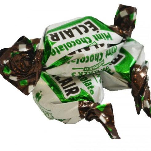 Mint Chocolate Eclairs