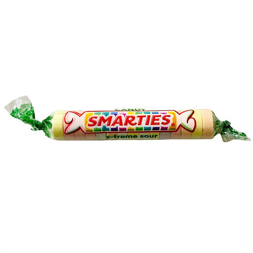 Smarties Candy Rolls x-treme Sour