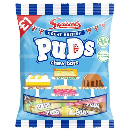 Swizzels Great British Puds Chew Bars Bag - £1