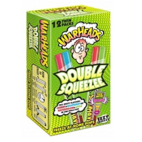 Warheads Freezer Pop Double Squeezee 12 Pack - [240ml]