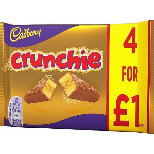 Cadbury Crunchie 4 Pack - £1