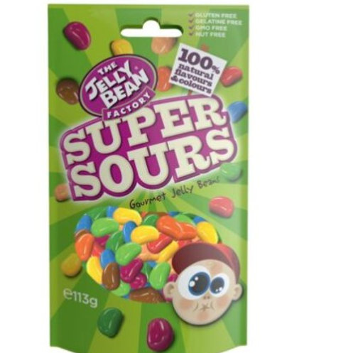 Jelly Bean Factory Super Sours - [113g]