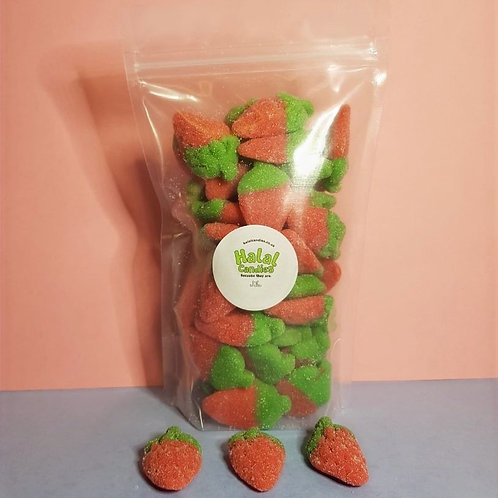 Fizzy Sour Strawberries Pouch